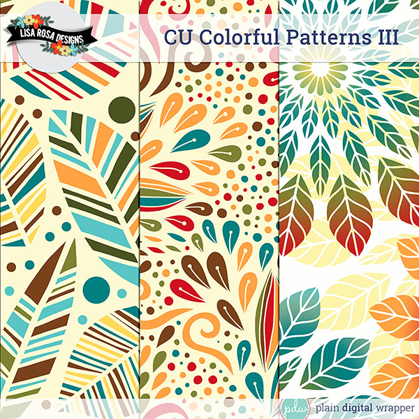 pattern layered template