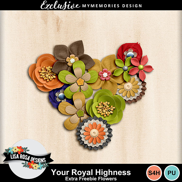 Your Royal Highness Extra Flowers pack