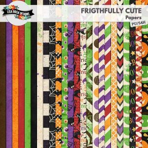 Frightfully Cute Scrapbook by Lisa Rosa Designs
