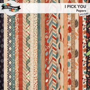 I Pick You Scrapbook by Lisa Rosa Designs