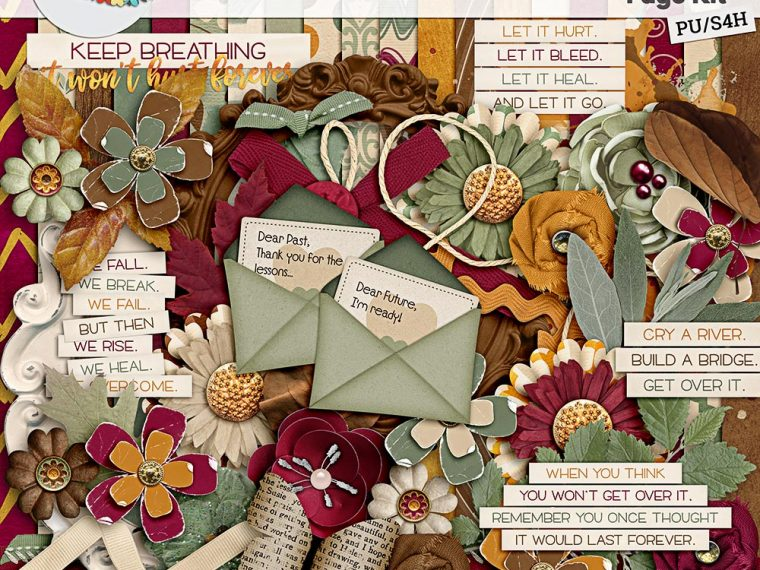 It's a Beautiful Life Page Kit by Lisa Rosa Designs