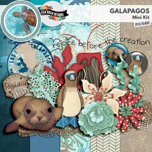 Galapagos - Mini Kit by Lisa Rosa Designs